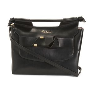 FOLEY + CORINNA Carlie Satchel Handbag Black